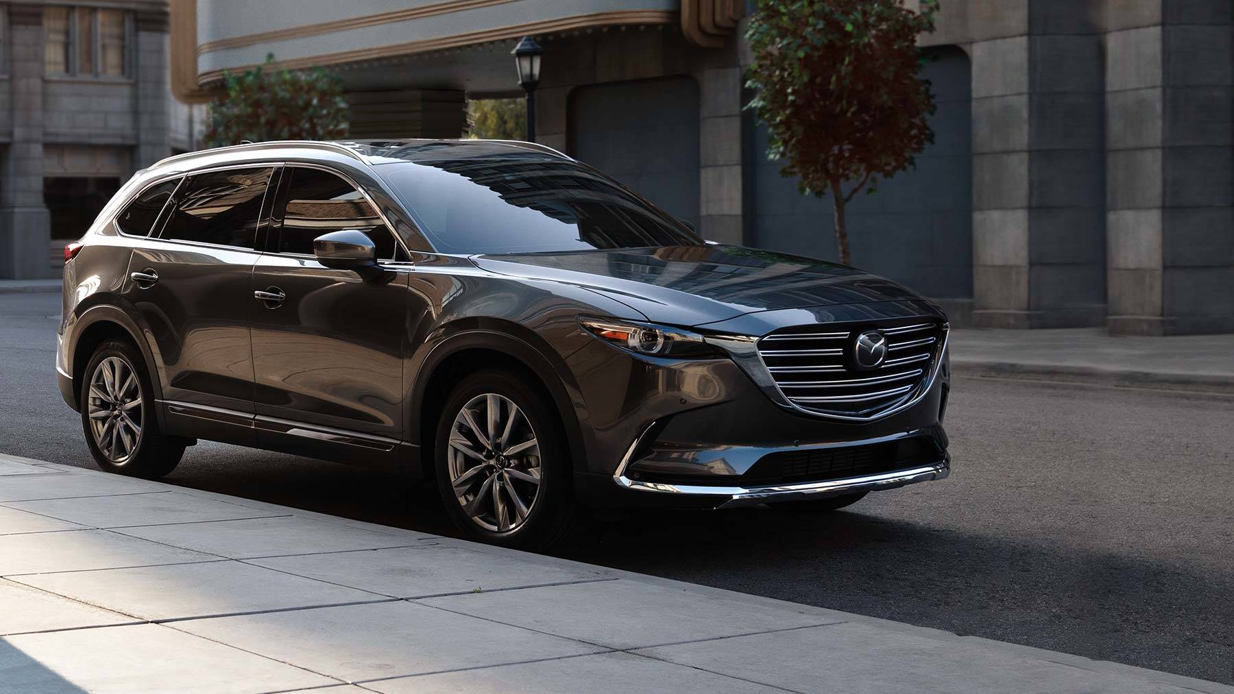 2019 Mazda Cx 9 3 Row Suv Back
